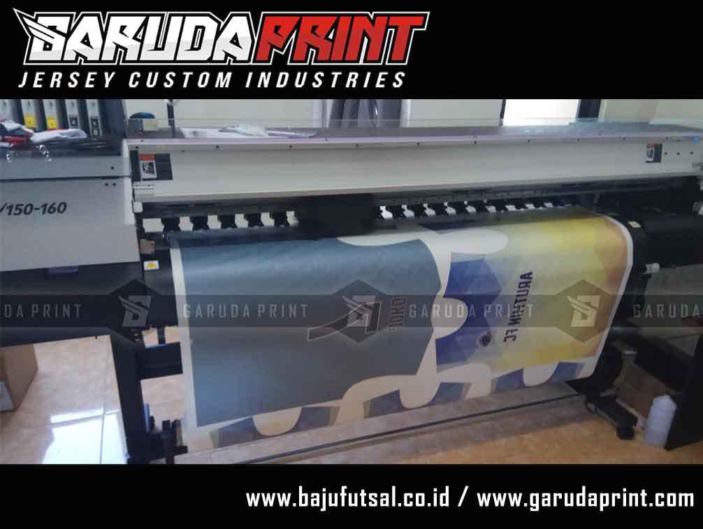 pembuatan Desain Jersey Futsal yang Bagus printing