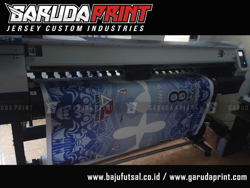 pembuatan baju futsal printing dengan variasi warna
