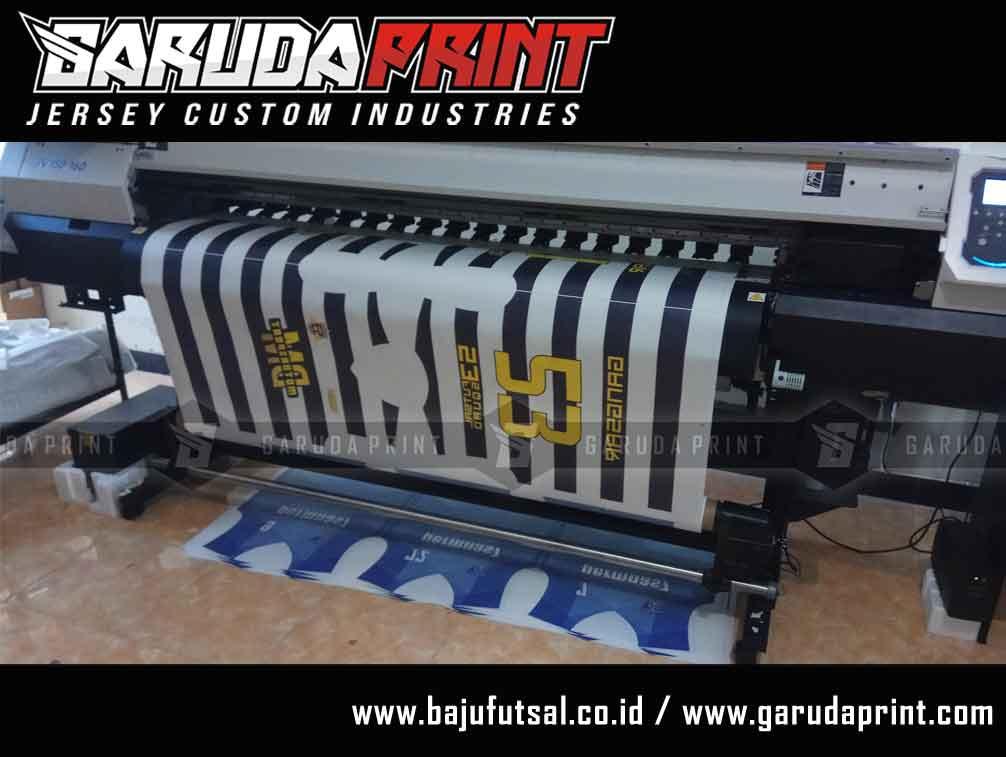 pembuatan baju futsal sendiri online printing