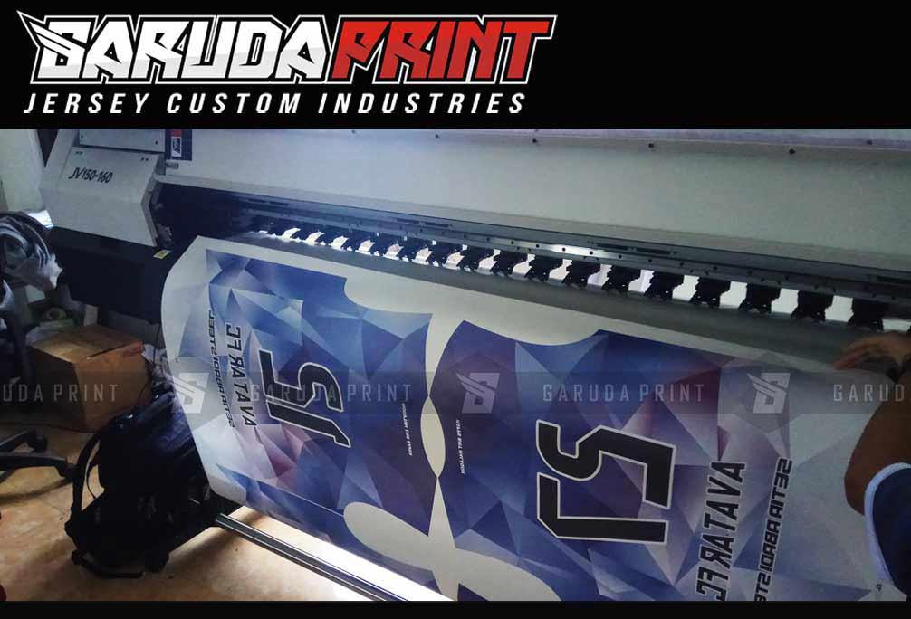 pembuatan kaos team futsal printing
