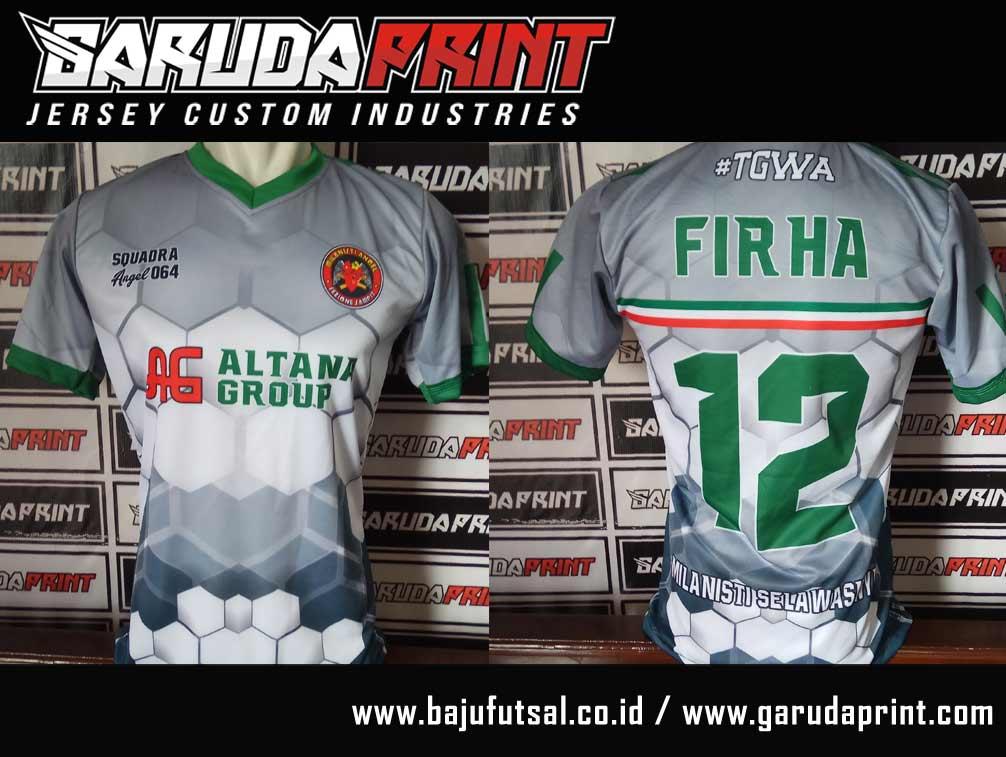 pesan baju futsal custom size
