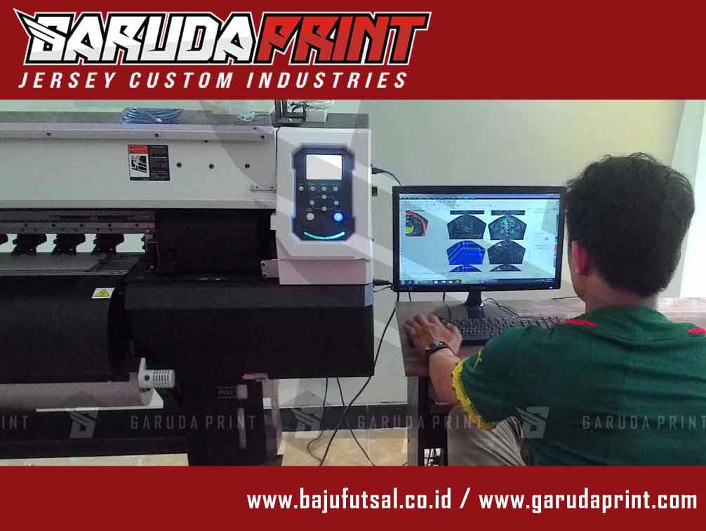 proses desain bikin baju futsal printing