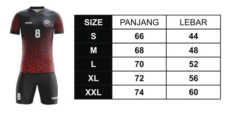 size-ukuran-baju-futsal