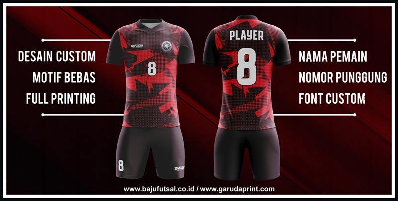 tempat Buat Baju Futsal Full Printing desain custom