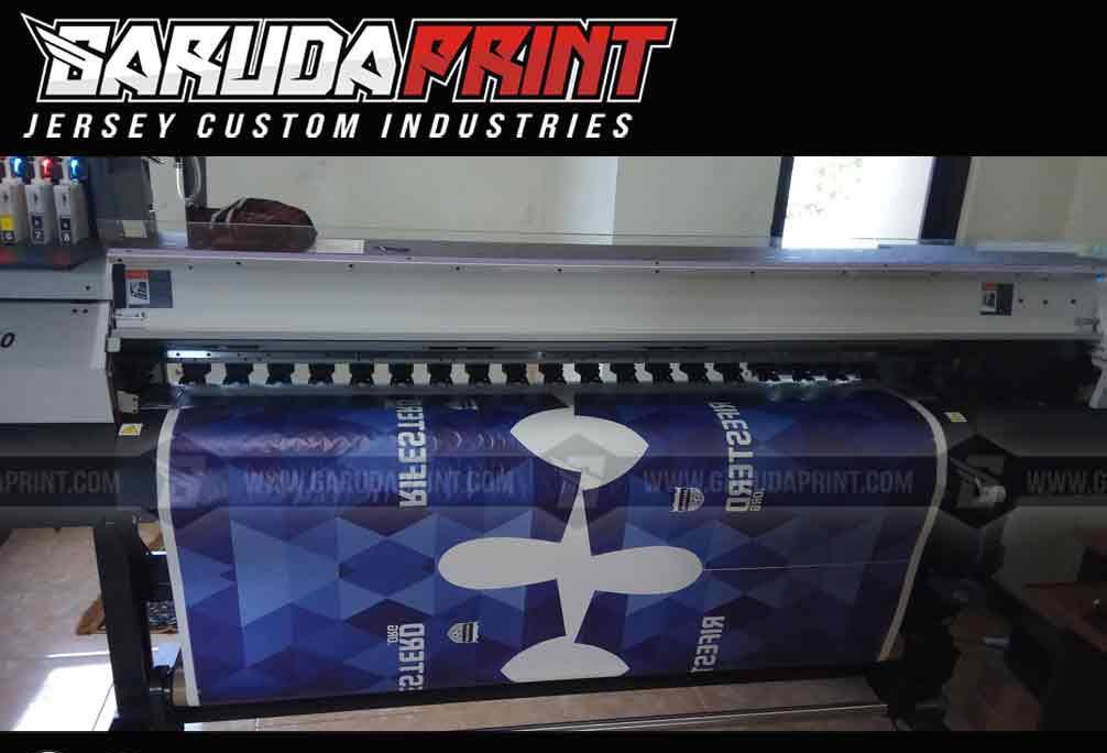 Bikin Baju Bola Nama Sendiri printing