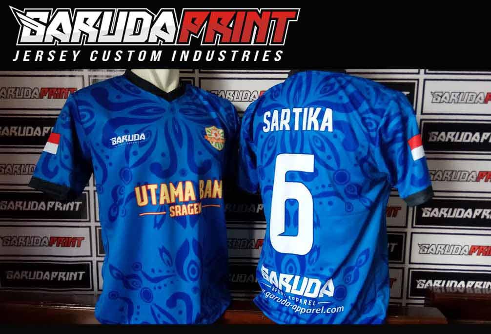 Bikin Baju Futsal Desain Keren Printing