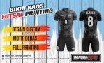 Bikin Baju Futsal Desain Keren Menggunakan Teknik Printing