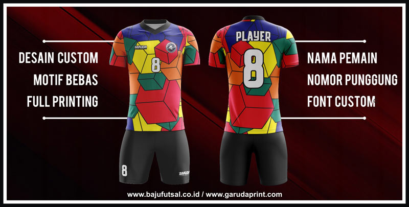 Bikin Baju Futsal desain Full Print