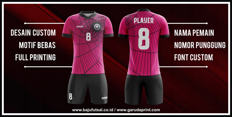 Bikin Baju Futsal di Surabaya dengan Desain custom