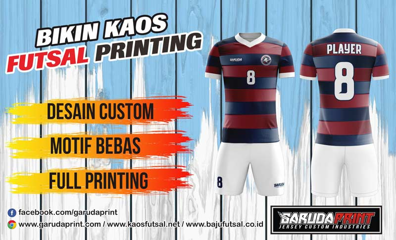 Bikin Baju Futsal di Surabaya dengan Desain dan Bahan Berkualitas