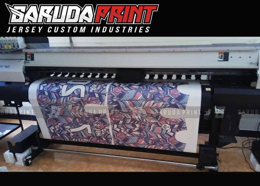 Bikin Jersey Futsal Dri Fit Printing
