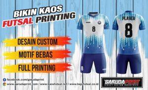 Bikin Jersey Futsal Full Print di Garuda Print dan Cara Pemesanan Jersey