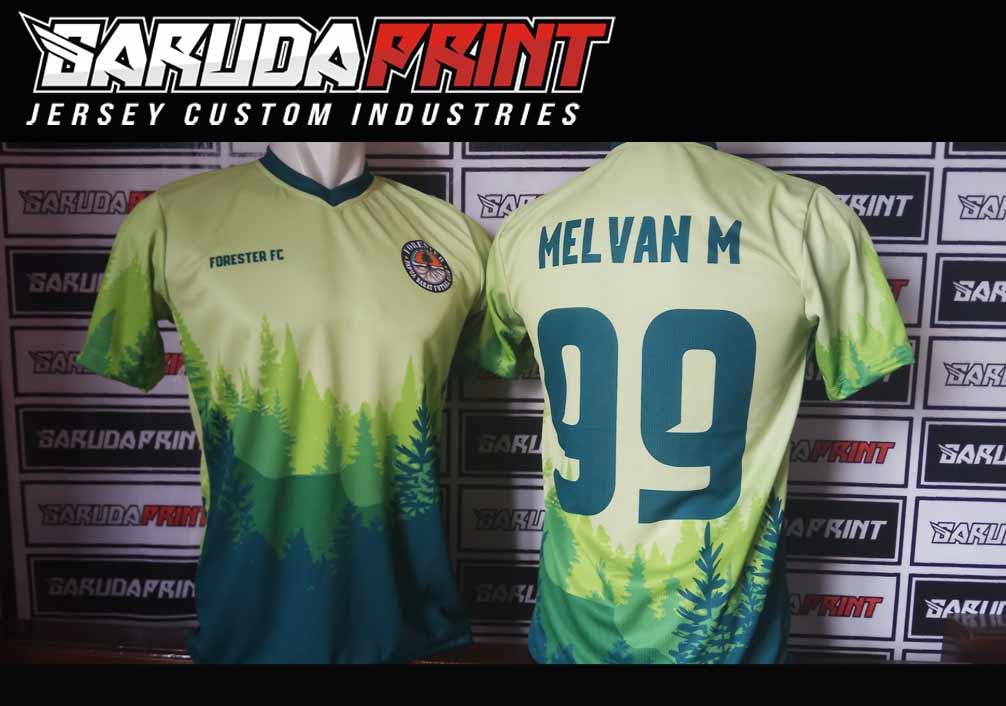 Bikin Jersey Futsal Full Print di indonesia