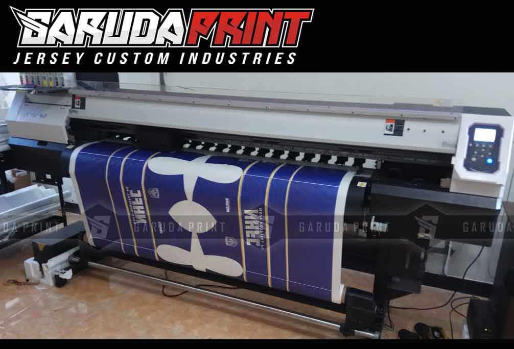 Bikin Jersey Futsal Printing Bahan Berkualitas