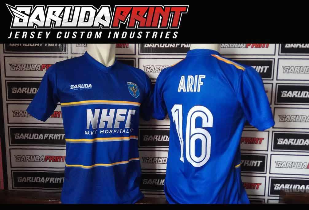 Bikin Jersey Futsal Printing online terbaik