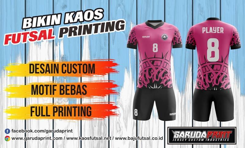 Bikin Seragam Futsal Printing di Garuda Print