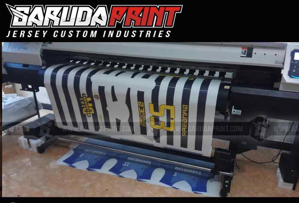 Bikin kaos futsal printing Tangerang