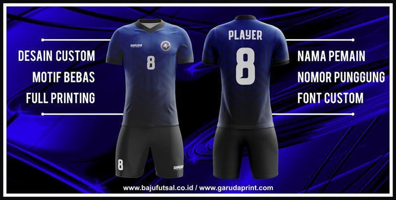 Buat kostum futsal full print desain custom