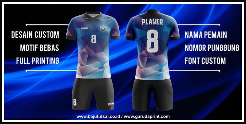 Desain dan Model Seragam Futsal printing