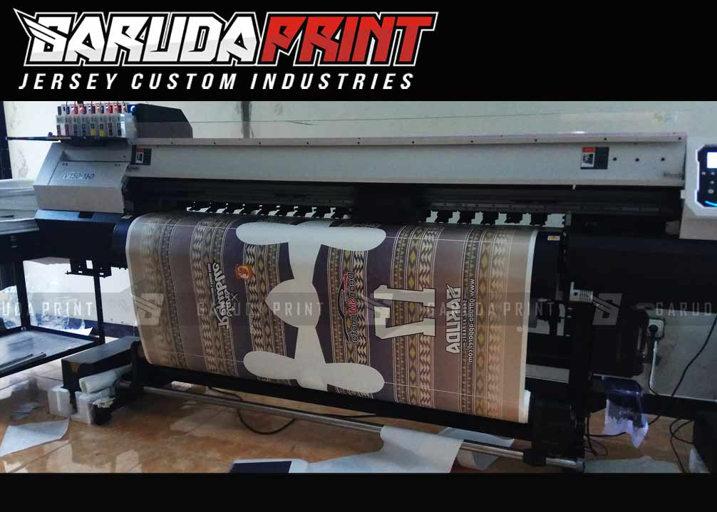 Konveksi Kaos Bola Printing Murah Berkualitas Tinggi
