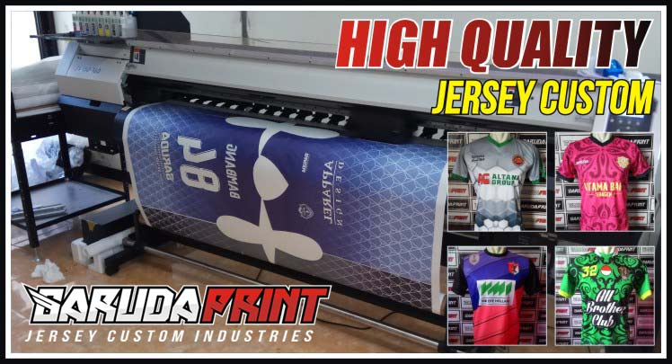 Konveksi Kostum Futsal Printing Teknologi Terbaru