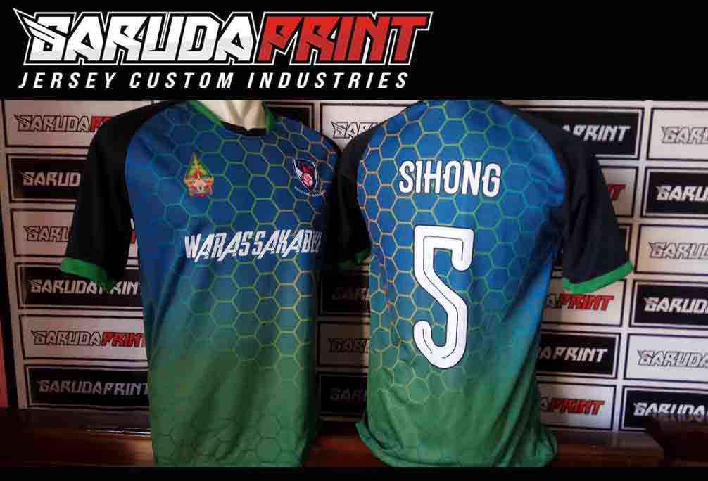 Konveksi Seragam Futsal Printing online