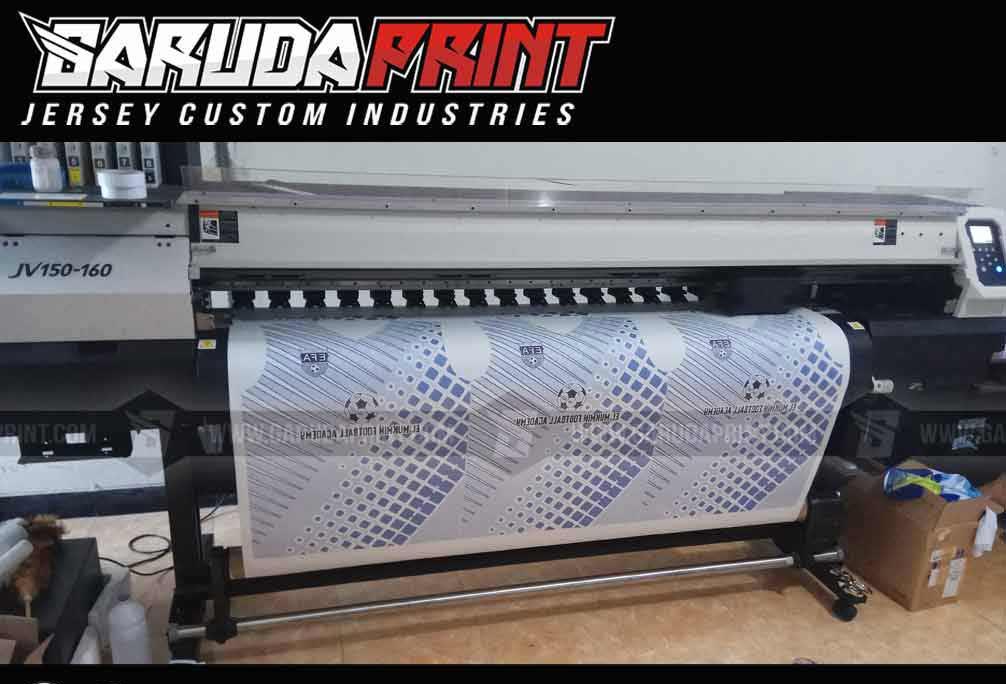 Pembuatan Baju Futsal printing
