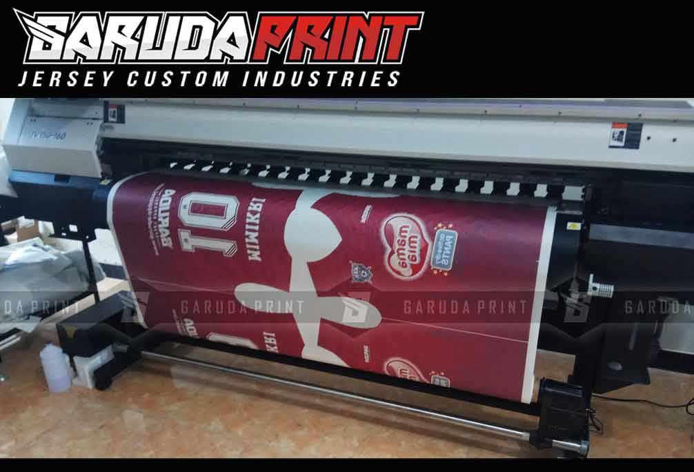Pembuatan Kaos Futsal Full Print terbaik