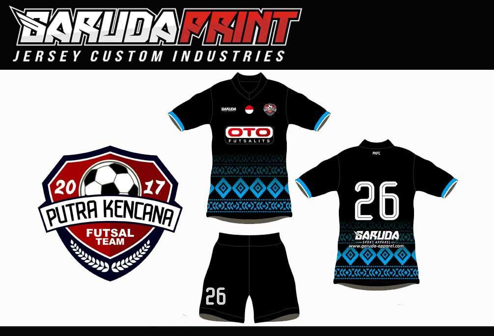 bikin seragam futsal printing desain sendiri