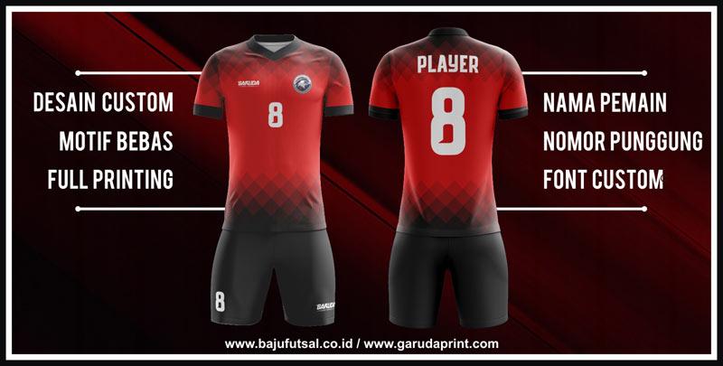 desain Jersey Futsal Full Printing