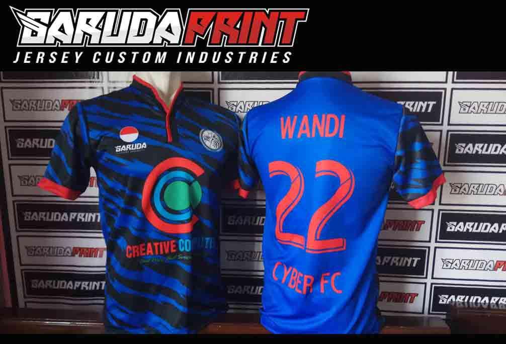 jasa Buat Kaos Futsal Printing