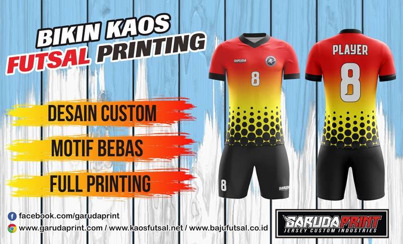 jasa Membuat Baju Sepak Bola printing