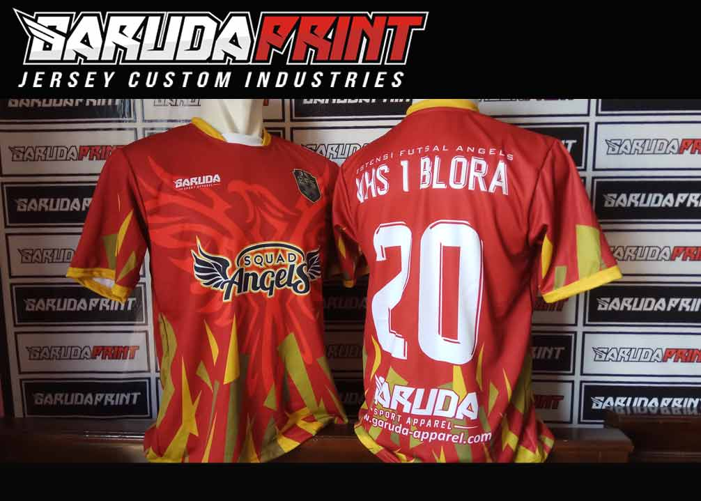 jasa bikin Kostum futsal printing terbaik indonesia