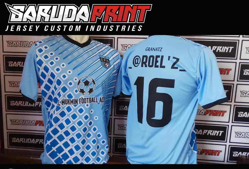 konveksi Pembuatan Baju Futsal printing