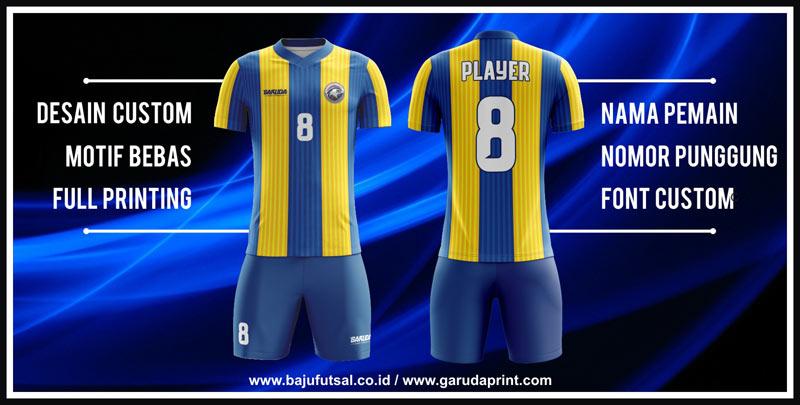 membuat baju sepak bola printing