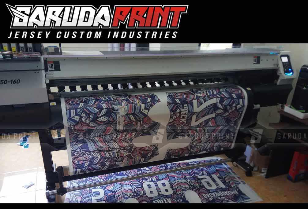 tempat bikin kaos futsal printing