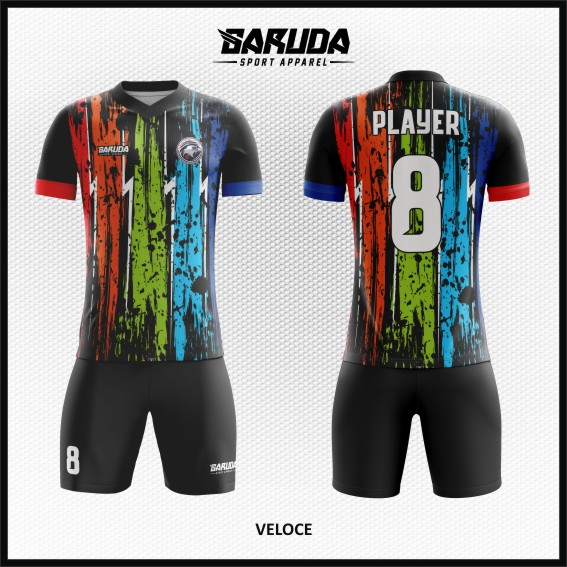Desain Baju Sepakbola Warna Unik Yang Trendy Dan Keren