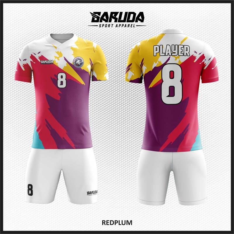 Desain Jersey Futsal Printing Terbaru Kombinasi Warna Terbaik