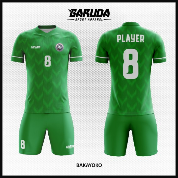 Desain Jersey Bola Futsal Warna Hijau Tampil Lebih Oke