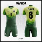 Desain Motif Alam Untuk Bikin Baju Futsal Custom