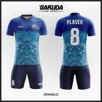 Desain Baju Futsal Warna Biru sebagai Seragam untuk Tim Anda