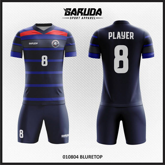 Jasa Desain Baju Futsal Terbaik warna biru