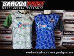 Pembuatan Baju Futsal Dengan Desain Garis-Garis
