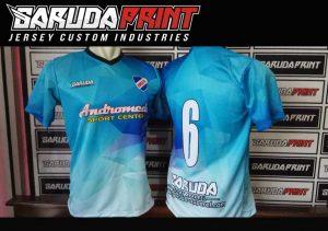 Bikin Baju Futsal Bahan Dryfit Dengan Teknik Sablon Printing