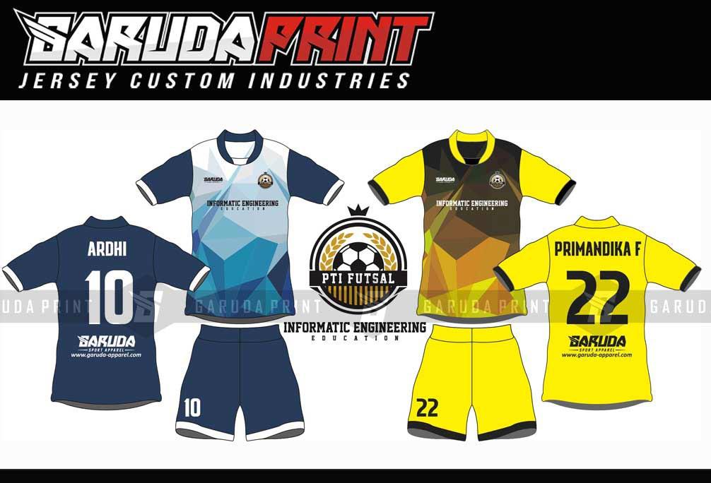 Desain Kaos Futsal Full Printing