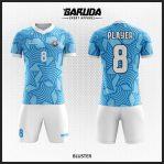 Desain Seragam Bola Futsal Warna Biru Yang Memikat Hati