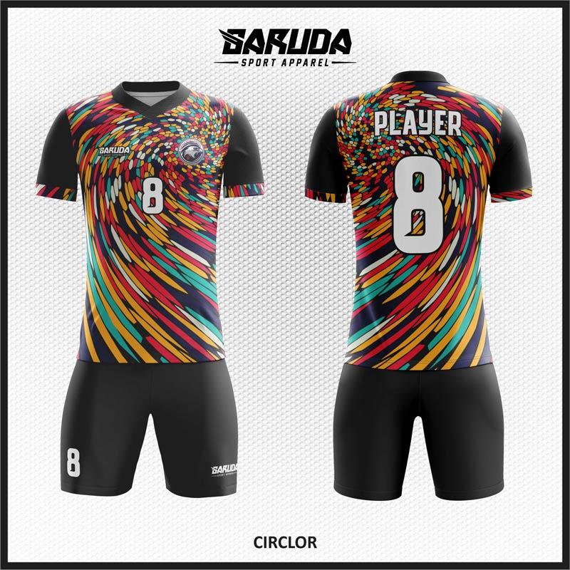 Desain Seragam Futsal Printing Code Circlor Tampil Lebih Bergaya