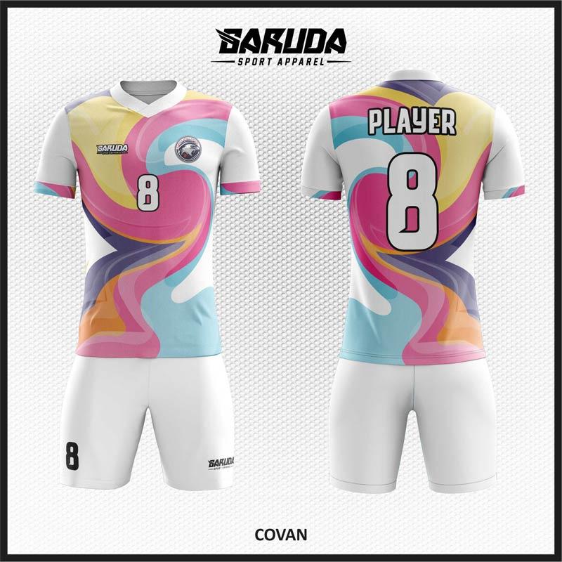 Desain Kostum Futsal Motif Unik Tampil Lebih Trendy