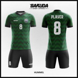 Desain Kaos Futsal Warna Hijau Hitam Yang Trendy